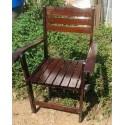 เก้าอี้พับไม้ประดู่